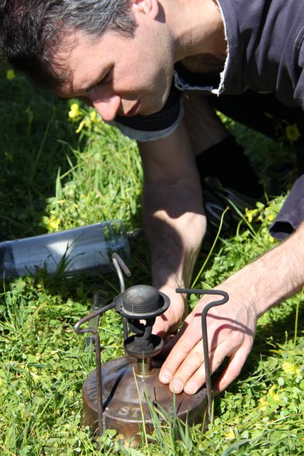 Restoration Man Andrew transforms ex-gully rubbish into cups of tea.