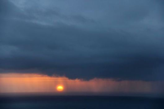 Sun and rain, Winter 2014